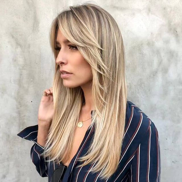 50 Timeless Ways To Wear Layered Hair And Beat Hair Boredom Regarding Long Hairstyles That Frame Your Face (View 22 of 25)