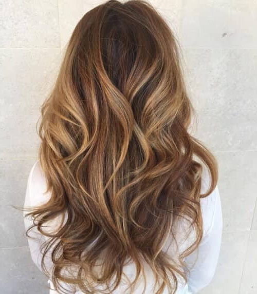 50 Timeless Ways To Wear Layered Hair And Beat Hair Boredom Regarding Long Layered Waves Hairstyles (View 7 of 25)