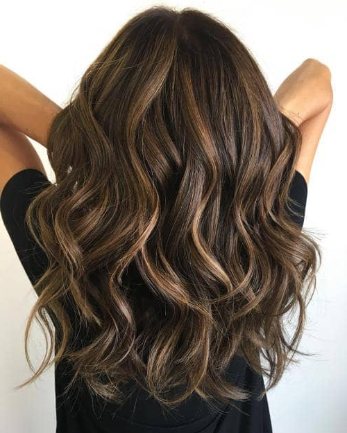50 Timeless Ways To Wear Layered Hair And Beat Hair Boredom Throughout Waist Length Brunette Hairstyles With Textured Layers (View 2 of 25)