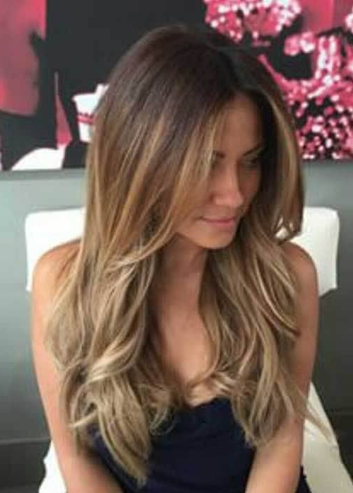 50 Timeless Ways To Wear Layered Hair And Beat Hair Boredom With Straight And Chic Long Layers Hairstyles (View 13 of 25)