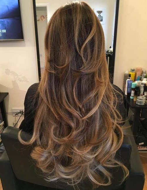 50 Timeless Ways To Wear Layered Hair And Beat Hair Boredom Within Long Curly Layers Hairstyles (View 16 of 25)