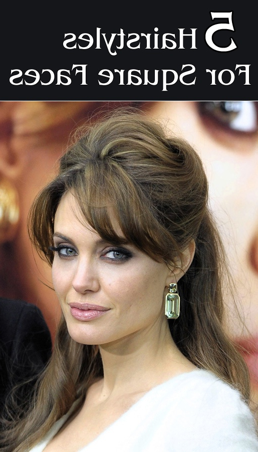 50 Top Hairstyles For Square Faces | Hair, Hair It's What We Wear Pertaining To Long Hairstyles Square Face (View 14 of 25)