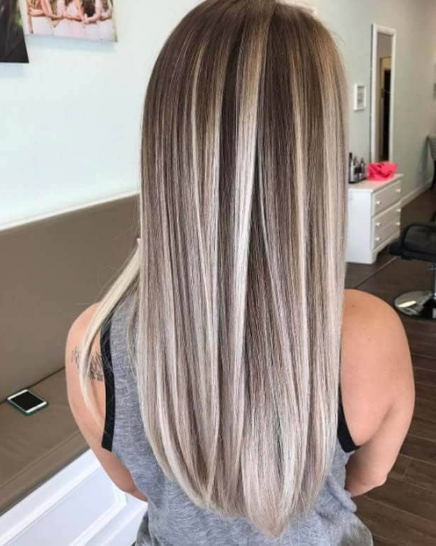 50 Unforgettable Ash Blonde Hairstyles To Inspire You In Long Hairstyles With Highlights (View 13 of 25)