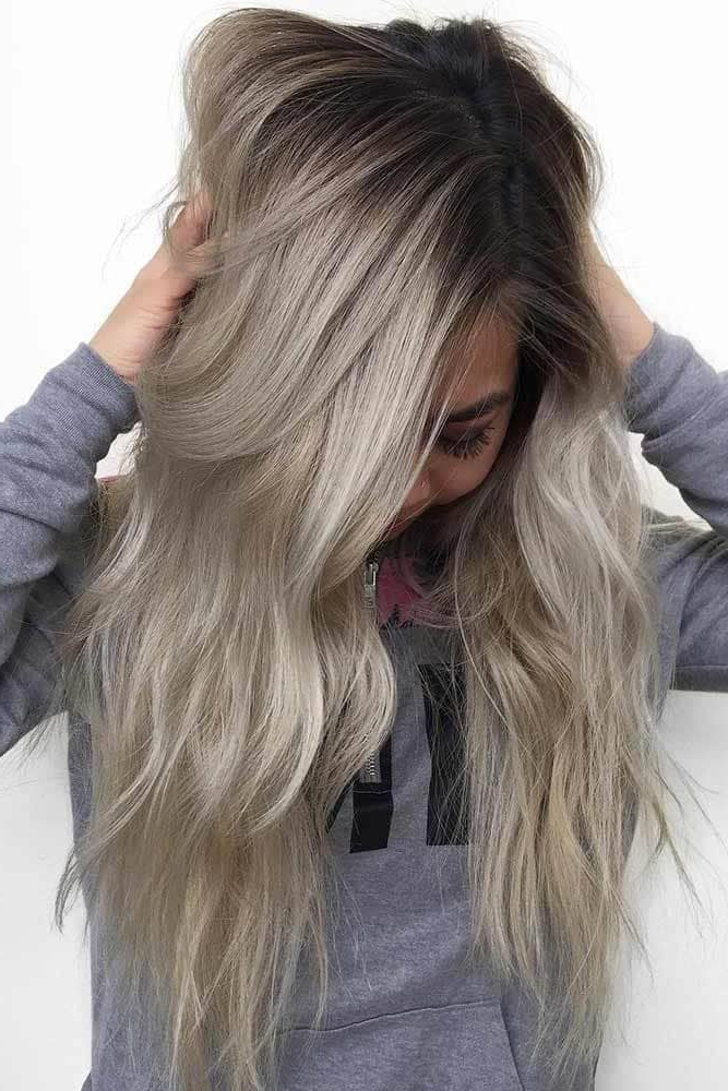 50 Unforgettable Ash Blonde Hairstyles To Inspire You Throughout Dark Blonde Long Hairstyles (View 23 of 25)