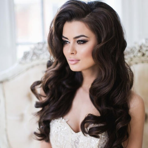 50 Unforgettable Wedding Hairstyles For Long Hair | Hair Motive Hair Within Long Hairstyles For Brides (View 23 of 25)