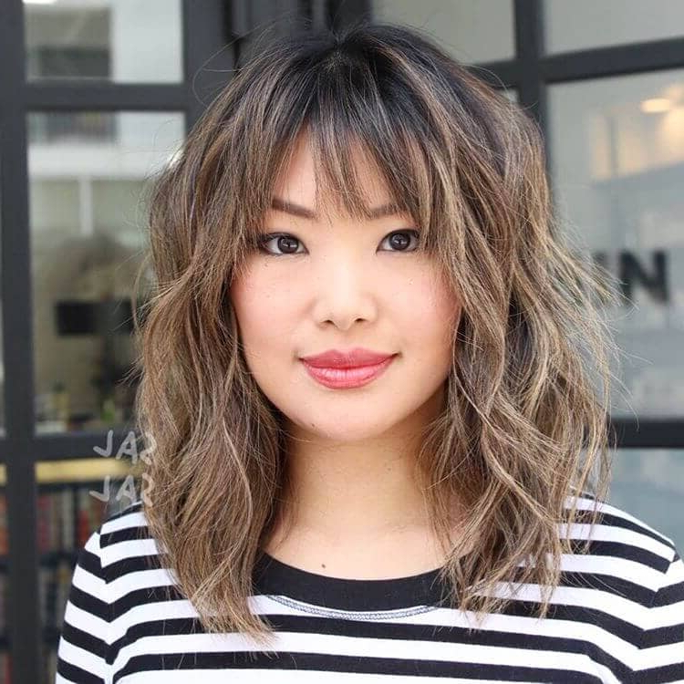 50 Ways To Wear Short Hair With Bangs For A Fresh New Look Intended For Short Bangs Long Hairstyles (View 20 of 25)