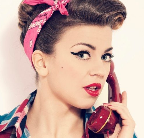 50S Hairstyles: 11 Vintage Hairstyles To Look Special | Hairstylo Inside 50S Long Hairstyles (View 5 of 25)