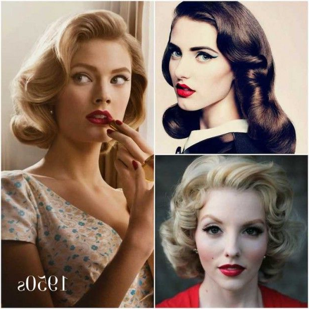 50S Hairstyles: 11 Vintage Hairstyles To Look Special | Hairstylo Inside Long Hairstyles In The 1950S (View 23 of 25)