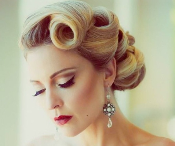 50S Hairstyles: 11 Vintage Hairstyles To Look Special | Hairstylo Intended For Vintage Updos Hairstyles For Long Hair (View 8 of 25)