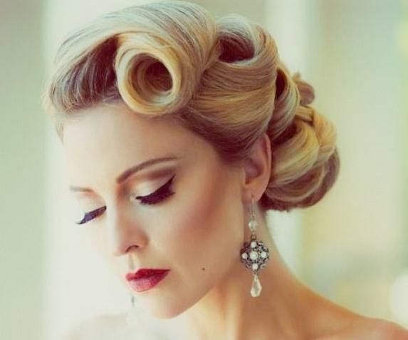 50S Hairstyles: 11 Vintage Hairstyles To Look Special | Hairstylo Regarding Vintage Hair Styles For Long Hair (View 19 of 25)
