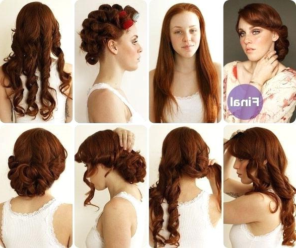 50S Hairstyles Long Hair – Erikalaguna Intended For 50S Long Hairstyles (View 23 of 25)