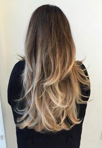 51 Beautiful Long Layered Haircuts | Page 2 Of 5 | Stayglam With Regard To Balayage Hairstyles For Long Layers (View 7 of 25)