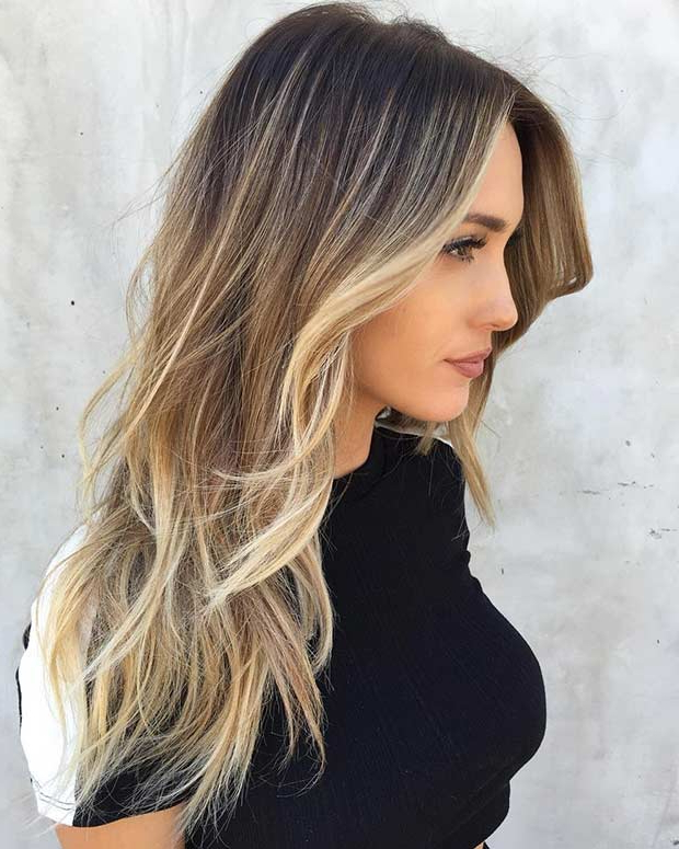 51 Beautiful Long Layered Haircuts   Stayglam For Long Hairstyles With Highlights (View 21 of 25)