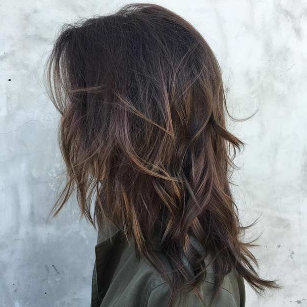 51 Beautiful Long Layered Haircuts | Stayglam Hairstyles | Hair Throughout Medium Textured Layers For Long Hairstyles (View 12 of 25)