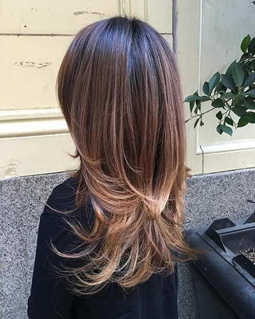 51 Beautiful Long Layered Haircuts | Stayglam Pertaining To Long Hairstyles Brunette Layers (View 25 of 25)