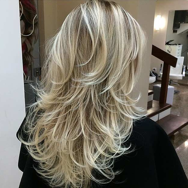 51 Beautiful Long Layered Haircuts | Stayglam Throughout Windswept Layers For Long Hairstyles (View 11 of 25)
