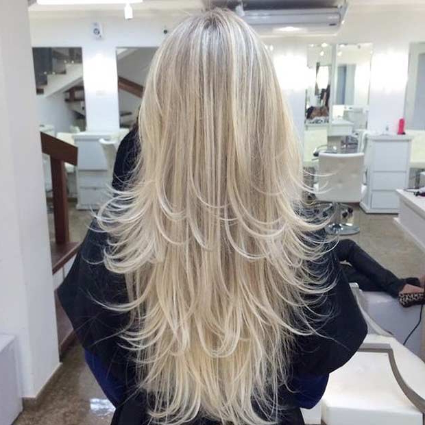 51 Beautiful Long Layered Haircuts   Stayglam Within Blonde Long Haircuts (View 19 of 25)