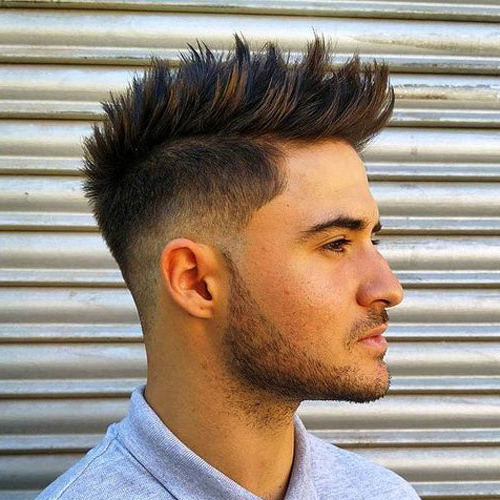 51 Best Spiky Hairstyles For Men (2019 Guide) With Spiky Long Hairstyles (View 8 of 25)