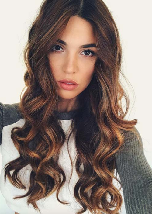 51 Chic Long Curly Hairstyles: How To Style Curly Hair – Glowsly Regarding Long Hairstyles Loose Curls (View 8 of 25)