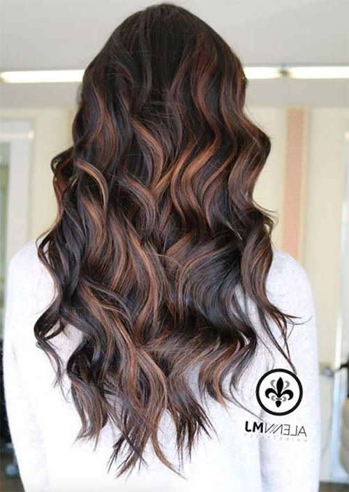 51 Chic Long Curly Hairstyles: How To Style Curly Hair – Glowsly With Long Hairstyles Loose Curls (View 22 of 25)