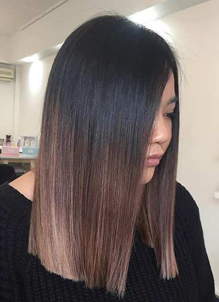 51 Cool And Trendy Medium Length Hairstyles | Stayglam Within Medium Long Haircuts (View 18 of 25)