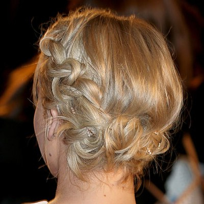 51 New Hair Ideas To Try In 2017   Allure For Jewelled Basket Weave Prom Updos (View 15 of 25)