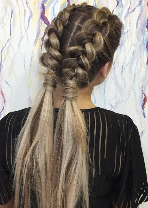 Featured Photo of Long Hairstyles Plaits