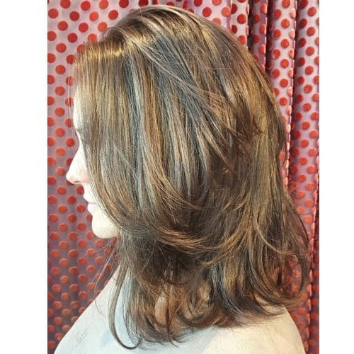 51 Stunning Medium Layered Haircuts (Updated For 2019) Inside Medium Textured Layers For Long Hairstyles (View 4 of 25)
