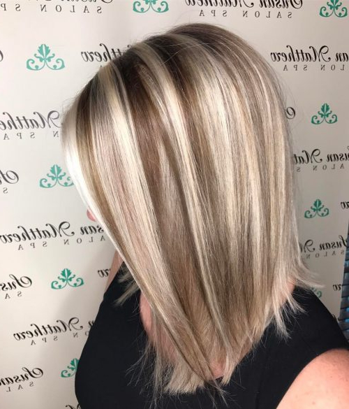 51 Stunning Medium Layered Haircuts (Updated For 2019) Throughout Long Hairstyles With Layers And Highlights (View 17 of 25)