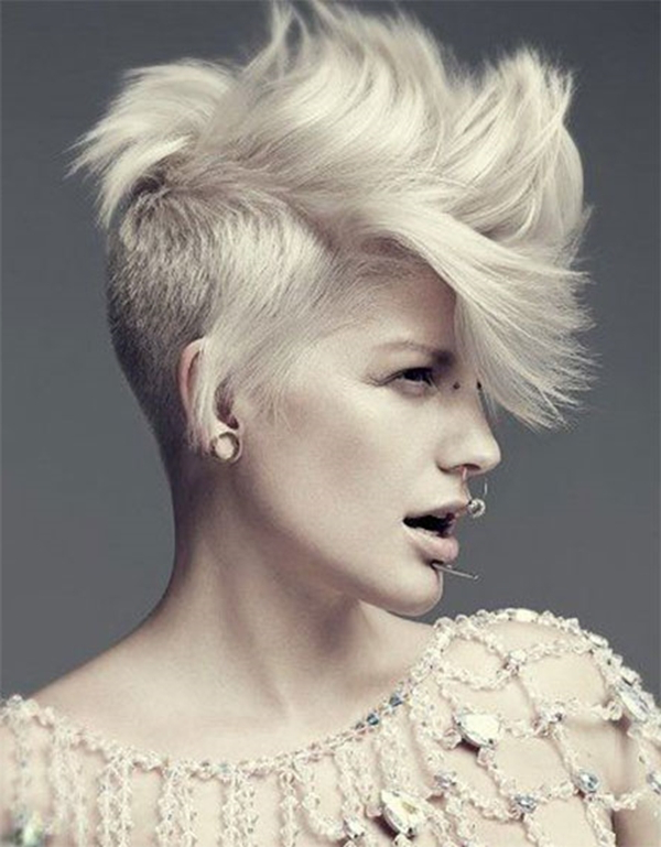 52 Of The Best Shaved Side Hairstyles Throughout Long Haircuts With Shaved Side (View 12 of 25)