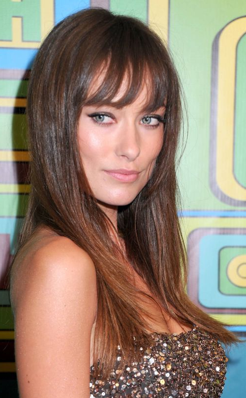 52 Short Hairstyles For Round, Oval And Square Faces With Regard To Long Haircuts With Bangs For Round Faces (View 19 of 25)