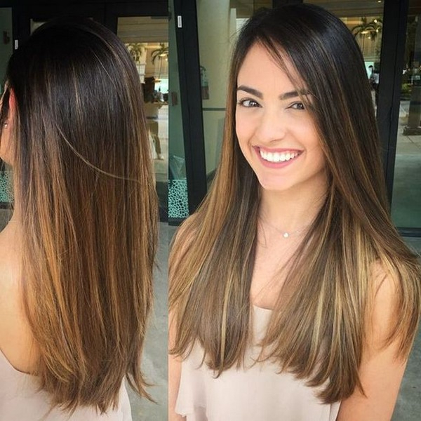 53+ Best New Hairstyles For Round Faces Trending In 2019 In Long Haircuts For Round Faces Women (View 20 of 25)