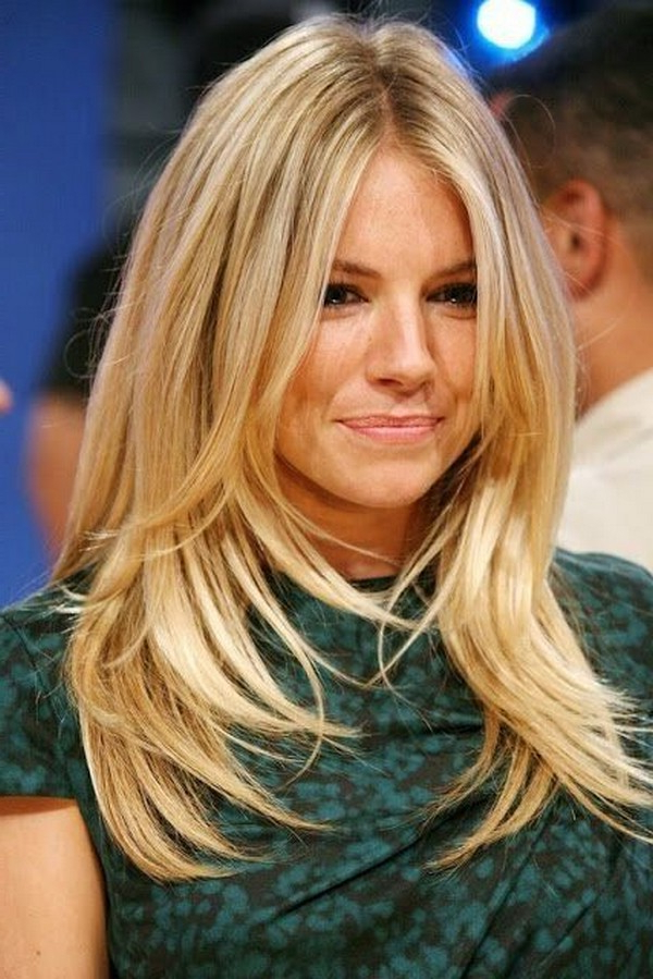 53+ Best New Hairstyles For Round Faces Trending In 2019 Regarding Long Hairstyles Layered Around Face (View 24 of 25)