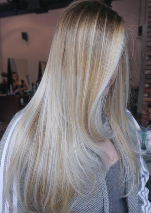 53 Coolest Winter Hair Colors To Embrace In 2019 – Glowsly With Regard To Long Blonde Hair Colors (View 14 of 25)