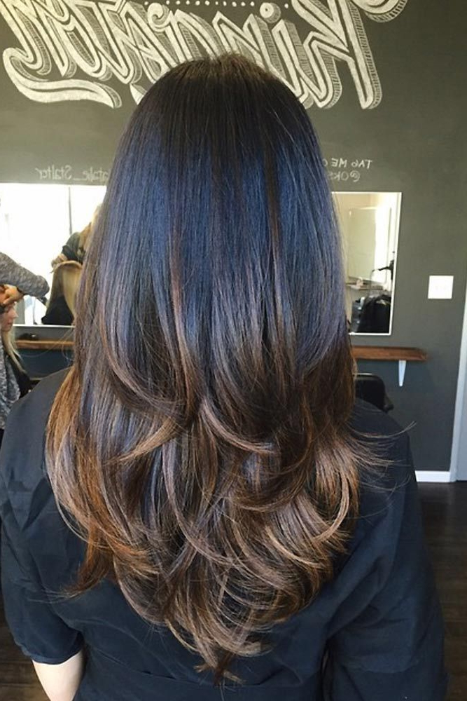 53 Long Haircuts With Layers For Every Type Of Texture | Hair | Hair Inside Balayage Hairstyles For Long Layers (View 6 of 25)