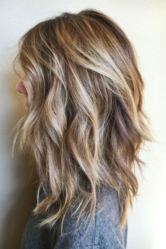 53 Long Haircuts With Layers For Every Type Of Texture | Hairstyles Within Choppy Dimensional Layers For Balayage Long Hairstyles (View 10 of 25)