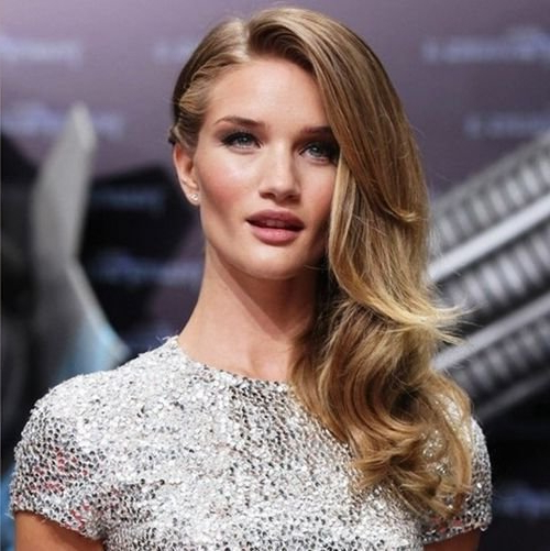 53 Side Part Hairstyles Wornfamous Celebrities Pertaining To Long Hairstyles With Side Part (View 6 of 25)