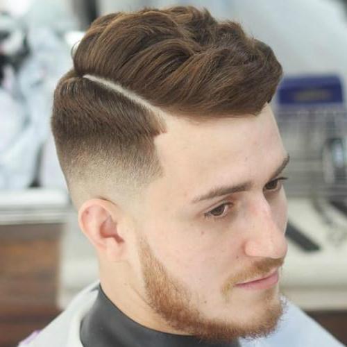 53 Splendid Shaved Sides Hairstyles For Men – Men Hairstyles World For One Side Long Hairstyles (View 20 of 25)