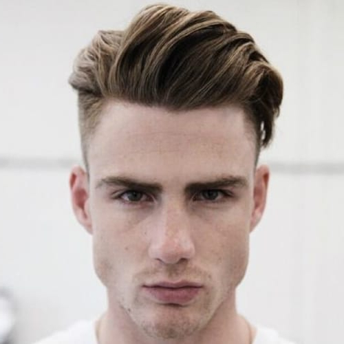 53 Splendid Shaved Sides Hairstyles For Men – Men Hairstyles World Inside Long Hairstyles With Shaved Sides (View 23 of 25)