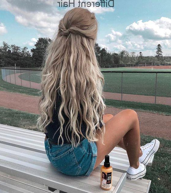 54 Cute And Easy Long Hairstyles For School For Fall And Winter Regarding Fall Long Hairstyles (View 25 of 25)