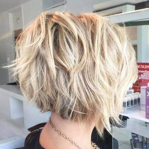 55 Alluring Short Haircuts For Thick Hair | Hair Motive Hair Motive Pertaining To Long Choppy Haircuts With A Sprinkling Of Layers (View 24 of 25)
