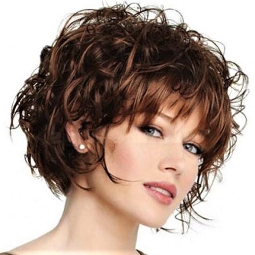 55 Alluring Short Haircuts For Thick Hair | Hair Motive Hair Motive Within Long Haircuts For Thick Curly Hair (View 18 of 25)