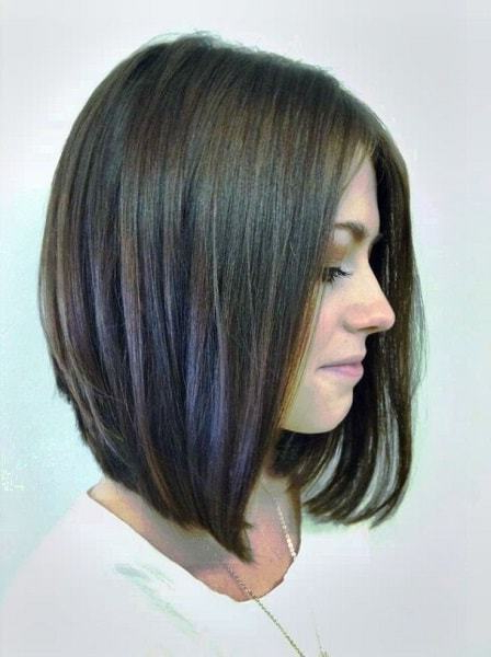55 Best Long Angled Bob Hairstyles We Love – Hairstylecamp With Regard To Angled Long Haircuts (View 9 of 25)