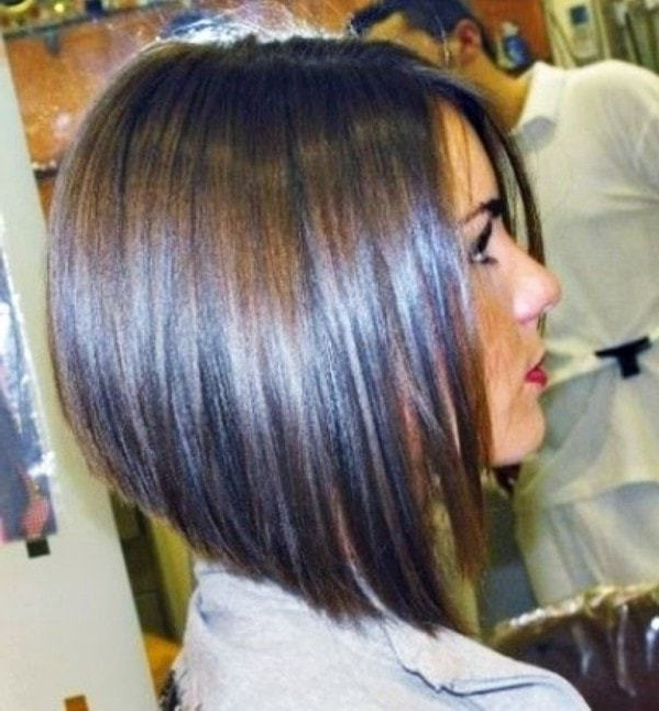 55 Best Long Angled Bob Hairstyles We Love – Hairstylecamp Within Bob Long Hairstyles (View 16 of 25)