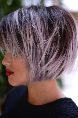 55 Best Short Haircuts 2019 – Quick & Easy To Style | Lovehairstyles For Messy Layered Haircuts For Fine Hair (View 14 of 24)