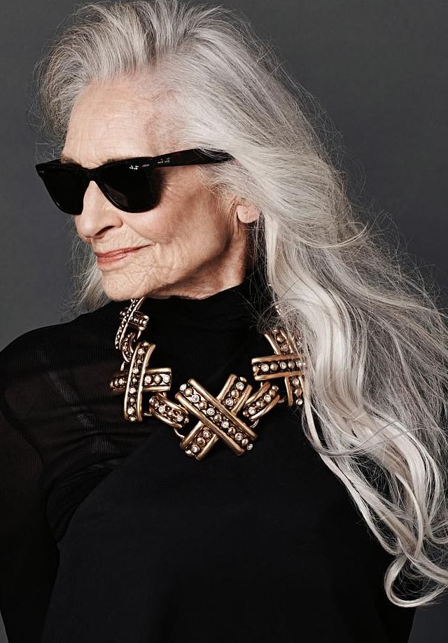 55 Classy Long Hairstyles For 60 Year Old Women With Glasses – Plus Pertaining To Long Hairstyles Over (View 24 of 25)