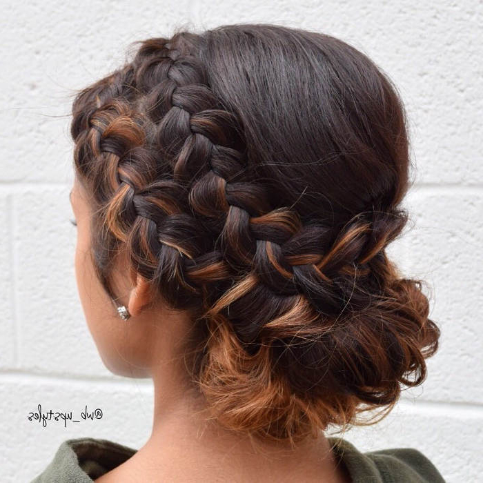 55 Cool Prom Hairstyles For Women, You Will Never See – Hairsdos For Double Braided Prom Updos (View 6 of 25)