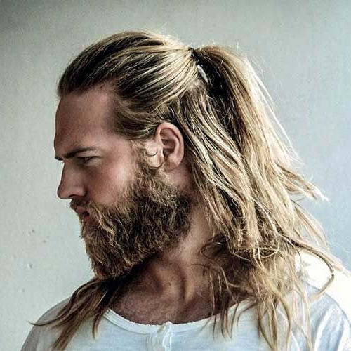 55 Coolest Long Hairstyles For Men (2019 Update) – Men Hairstyles World Intended For Long Hairstyles In A Ponytail (View 23 of 25)