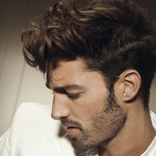 55 Coolest Short Sides Long Top Hairstyles For Men – Men Hairstyles For Side Long Hairstyles (View 16 of 25)