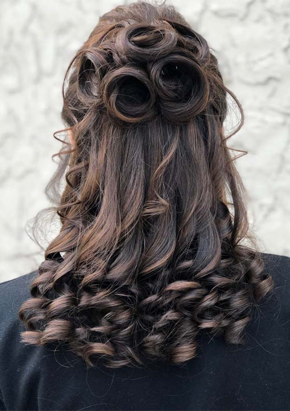 55 Cute Prom Hairstyles For Long Hair 2018 | Inside Cute Long Hairstyles For Prom (View 21 of 25)